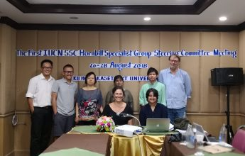 The First IUCN SSC Hornbill Specialist Group Steering Committee Meeting